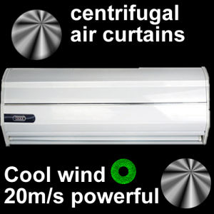 Rideaux d'air centrifuge