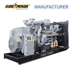 750kVA는 마라톤 발전기를 가진 유형 Perkins 디젤 엔진 발전기를 연다