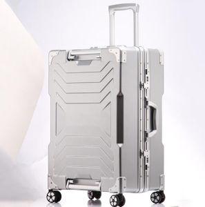 Königlicher PC Aluminiumlaufkatze-Geschsaftsreise-Koffer mit Tsa Verschluss