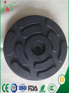 자동 상승을 설치하기 위하여 사용되는 강철 플레이트를 가진 NR 고무 패드