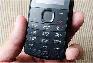 Teléfono celular original X1-01 Cheap Teléfono Teléfono móvil