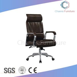 熱い販売の現代家具の黒の革オフィスの革マネージャの椅子