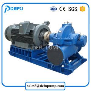 L'horizontale entraînés par moteur électrique des pompes centrifuges de cas de fractionnement