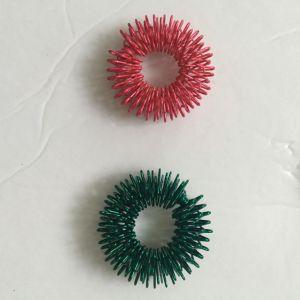 Masaje Dedo Dedo anillo anillo de masaje de acupresión