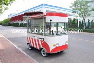 L'alimentation électrique de la rue multifonction pour la vente du chariot