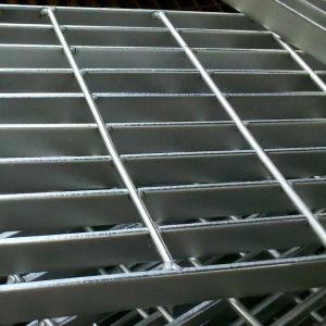 Para Trabajo Pesado de acero galvanizado de la barra de rejilla para la plataforma