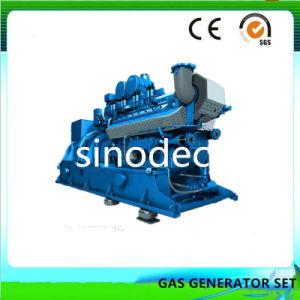 Los pequeños 90 kw de potencia del motor generador de biomasa