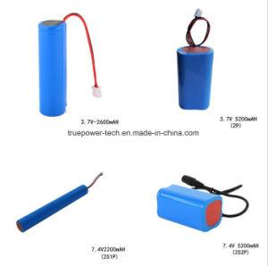 시끄러운 스피커를 위한 리튬 이온 건전지 팩 3.7V 5200mAh 18650