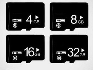 De in het groot Steun van de Kaart van de Telefoon van de Hoge snelheid van de Kaart van het Geheugen ultra Mobiele drukt Uw TF van het Embleem Micro- BR Kaart Ypf17 af