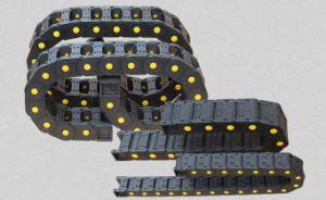 CNC de Techniek Ingesloten Plastic Ketting van de Kabel van de Belemmering van de Rol