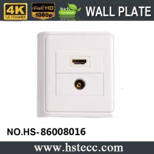Venta caliente estilo 86 Módulo TV HDMI Placa de pared