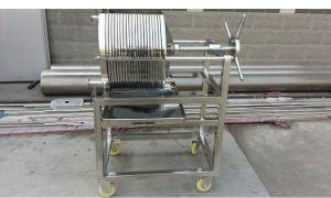 La simplicidad de la cerveza de operador/filtro filtro de placa y el bastidor