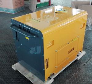 6.5kw de lucht koelde de Enige Diesel van de Cilinder Draagbare Stille Reeks van de Generator/Generator