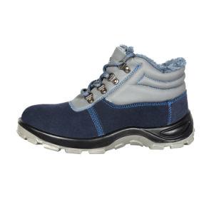 Deslizarse sobre la tapa de acero de zapatos de trabajo para trabajar
