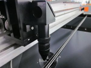 cortadora y grabadora láser de CO2 marca láser Etch Templar Emboss sello polaco