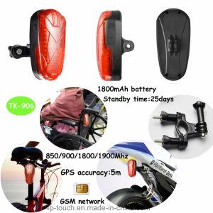 Bicicleta impermeável Rastreador GPS TK906 com Longo Tempo de Espera