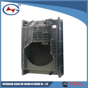 Ntaa855 G7 14 구리 방열기 발전기를 위한 액체 물 방열기