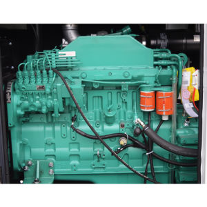 100kVA主な力の無声タイプ6シリンダーディーゼル発電機