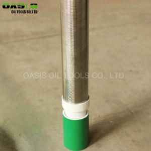 Edelstahl-Wasser-Vertiefungs-Bohrgestänge-Sand-Steuerquellfilter