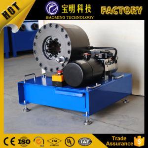 セリウムのホース鍛造機械24V 12V油圧ホースひだが付く機械