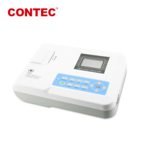 ECG de Contec ce100g&certificado FDA Canal Digital de una sola máquina de ECG