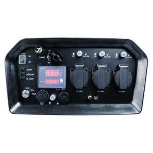 Mini 5.5kw silencio pequeño hogar electricidad gasolina generador de uso