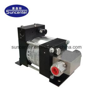 Широко используется Suncenter Небольшой компактный пневматическим приводом насоса для проверки давления гидравлической системы