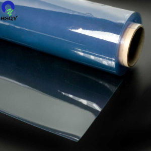 青いPVC極度の明確なプラスチックPVCフィルム透過PVC