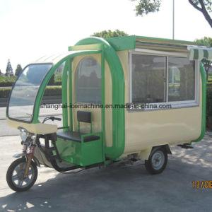 食糧カートの電気モーターバイクの赤いハンバーガーは移動式コーヒー食糧トラックJy-B51を運ぶ