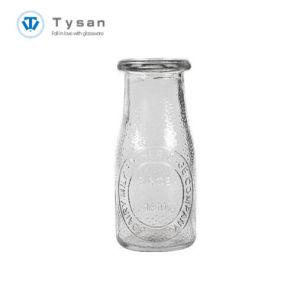 bottiglia per il latte di vetro 220ml con il disegno del PUNTINO