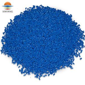 Virgen de plástico de color azul Pellet Masterbatch