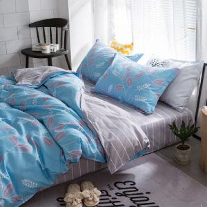 Design simples e impressão de luxo a roupa de cama de retalhos cobrir