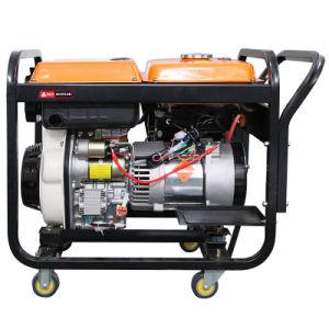 Da Etk Fácil Carrry portátil gerador diesel de 5 kw