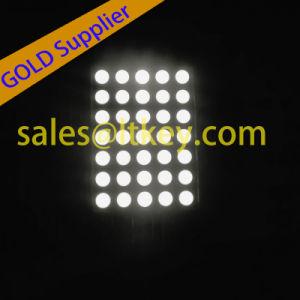5X7 LED de matriz de puntos con diferentes alturas de la matriz