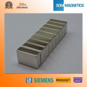 Het het gekwalificeerde Industriële Borium van het Ijzer van het Neodymium van de Zeldzame aarde Permanente/N35 Nikkel van het Blok NdFeB/van het Segment/Zinc/Zn Met een laag bedekte Magneet