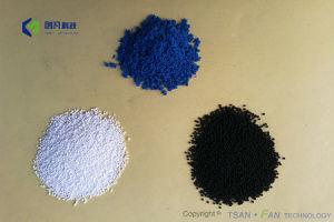 En PTFE/particules rempli de poudre