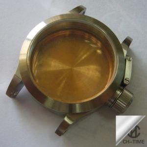 イオンPlated Stainless Steel Waterproof Watch Case 316L