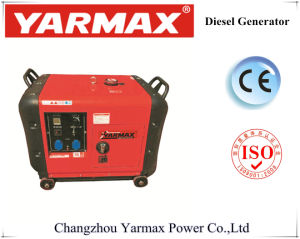 Refrigerado por aire portátil tipo silencioso Generador Diesel