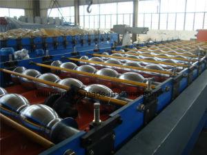 Vitrage Panneau mural machine à profiler de tuiles en acier avec servomoteur