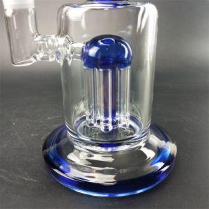 Blauer Baum armiert Filter-Glas-Wasser-Rohr für das Rauchen