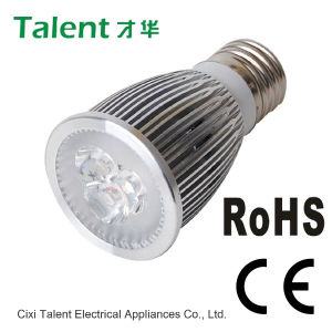 Alto potere LED Light di E27/GU10/MR16 6W
