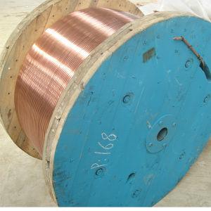 De aluminium Ingeblikte Draad van het Staal van de Bundel van het Koper Beklede CCS