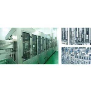 Machine de remplissage de liquide de quatre-en-un chaud
