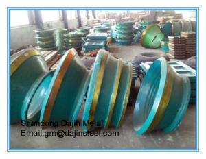 Las placas de desgaste de hierro de fundición, trituradora de cono la sustitución de piezas de desgaste