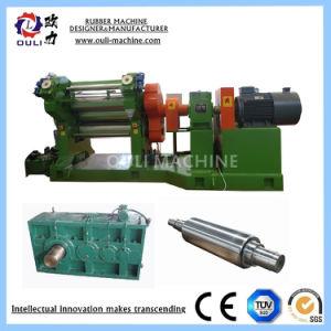 Due-Rotolare la macchina di calandratura di gomma per il rivestimento di gomma