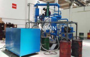 Máquina de la regeneración del aceite de motor de la basura de la tecnología de la destilación del petróleo de China