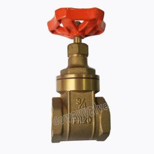 OEM/ODM Válvula de compuerta de latón forjado por el sistema de agua Irrrigation con hierro la manija de la fábrica china