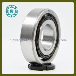 Fila única de contacto angular con cojinete de soporte de baquelita, fábrica de producción (7308AC)