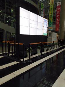 Напольные LCD видео стены