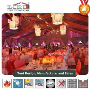 1500 pessoas grande festa tenda com parede de vidro para eventos ao ar livre